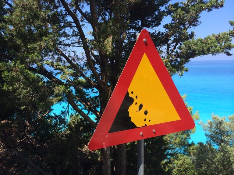 Droga do Egremni/The way to Egremni Beach