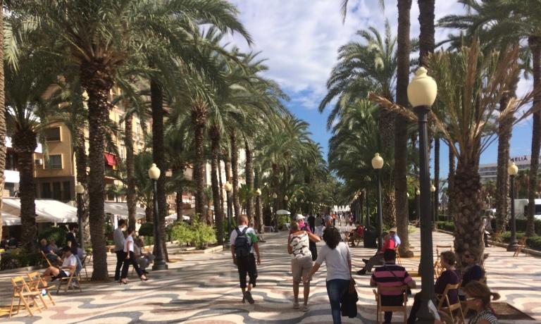 Promenda. Alicante. Spain.