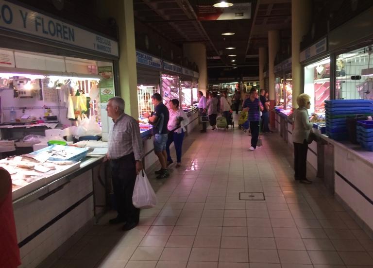 Mercado. Alicante. Spain.