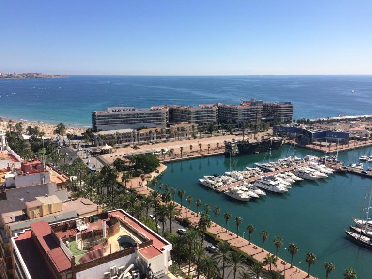 Playa Postiguet. Alicante.